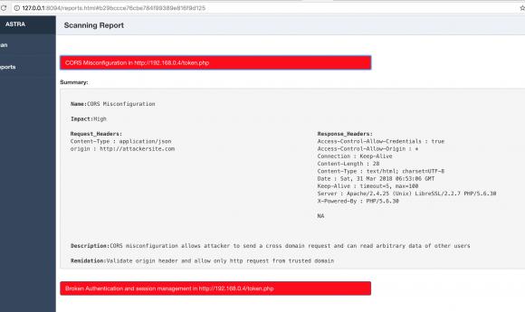 💉 Astra — автоматизированное тестирование безопасности для REST API