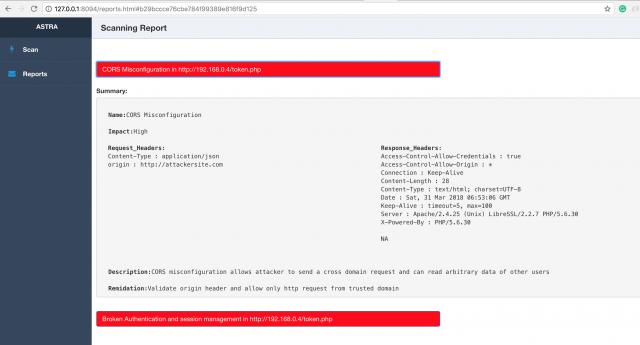 💉 Astra – автоматизированное тестирование безопасности для REST API