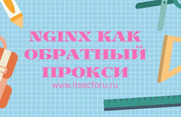 🌐 Простой способ настройки обратного прокси Nginx