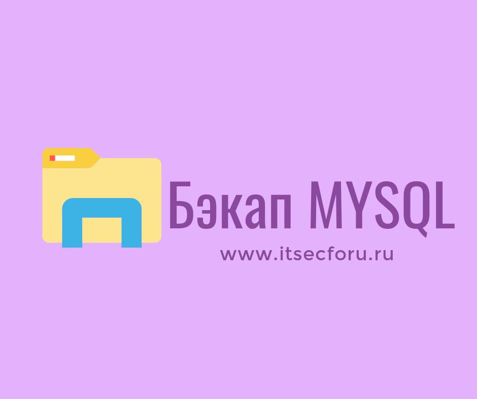 🐧 MySQL – Как сделать резервную копию пользовательских привилегий таких как CREATE USER и / или GRANT