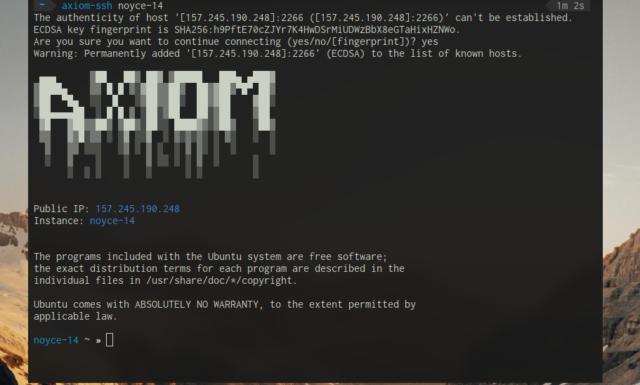 🕵️  Axiom — пентест сервер
