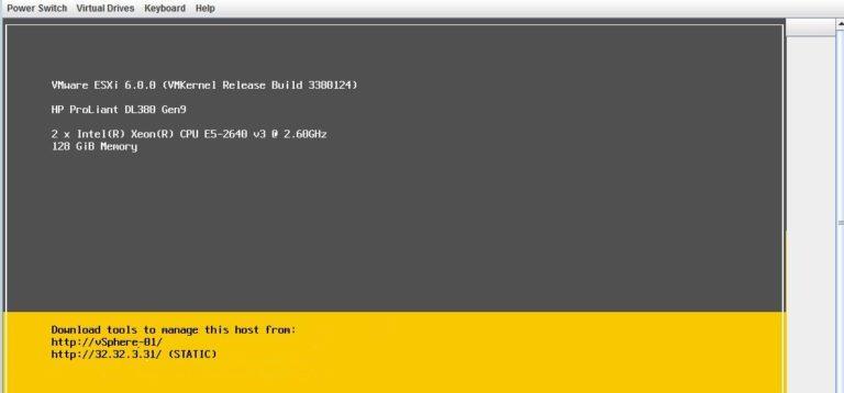 🖧 Доступ к экрану консоли ESXi из сеанса SSH