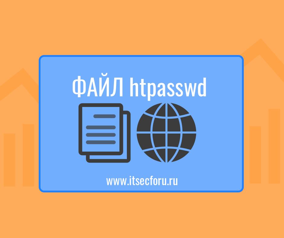 🔐 Что за файл .htpasswd и зачем он нужен?