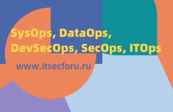 👤 Введение в трендовые направления – SysOps, DataOps, DevSecOps, SecOps, ITOps
