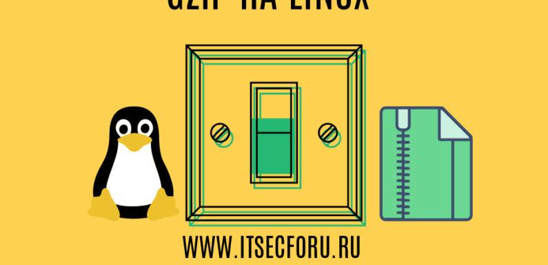 🐧  Как выполнить Gzip и сохранить исходный файл на Linux