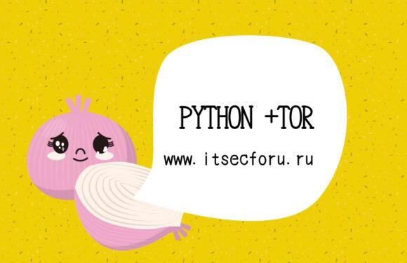 🌐 Использование Tor с Python
