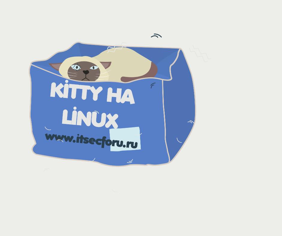 🐱 Kitty – мощный эмулятор терминала на базе графического процессора