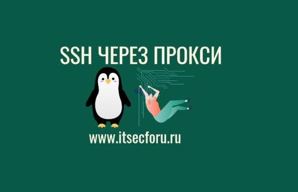 🐧 4 способа подключения к SSH и SCP через прокси-сервер (jump) на Linux