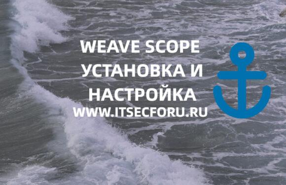 ☸️ Мониторинг контейнеров Docker и Kubernetes с помощью Weave Scope