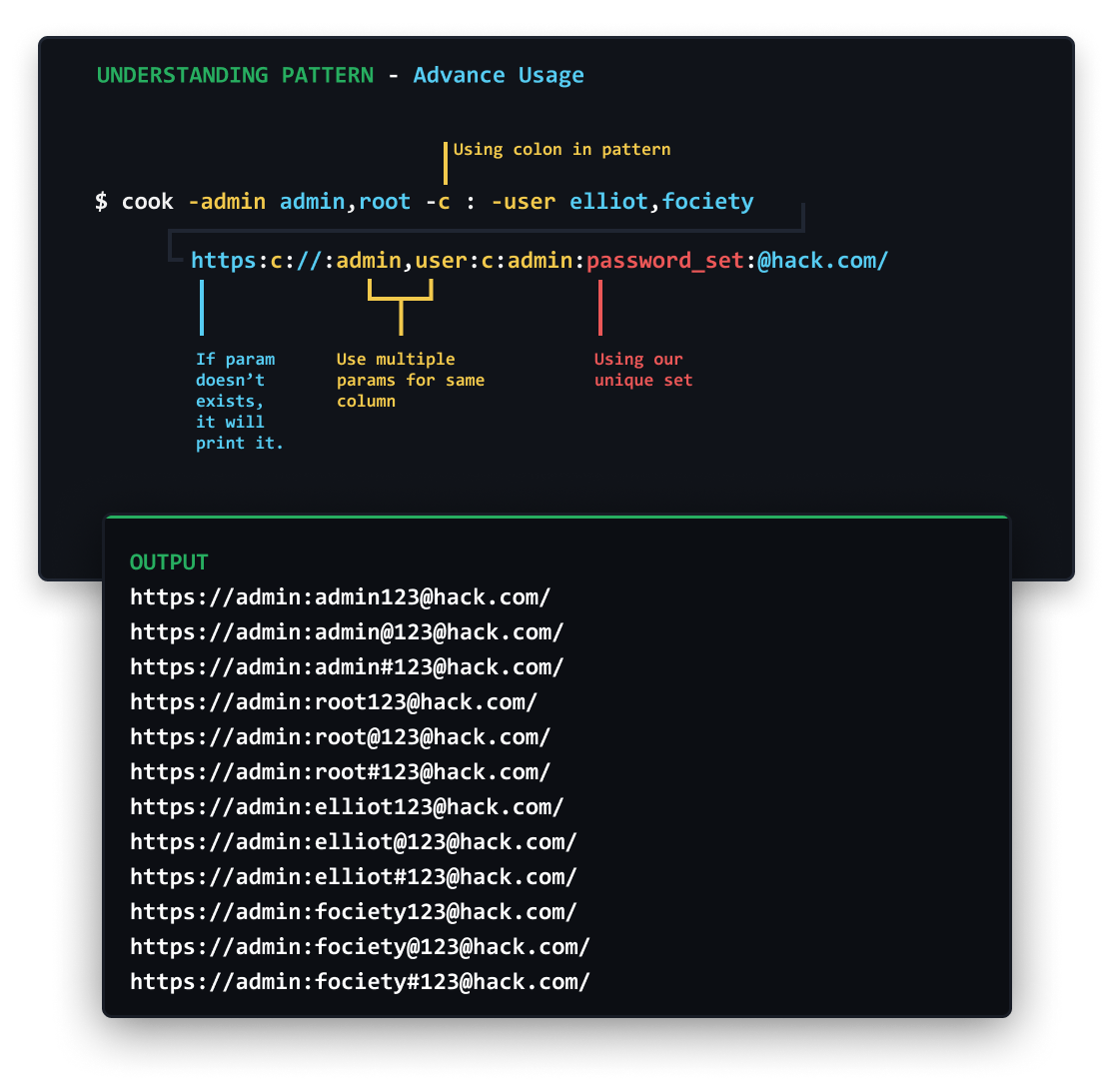 👨🍳 cook:  настраиваемый словарик для брутфорса и генератор паролей