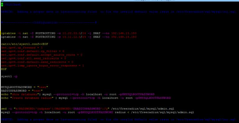 Как настроить L2TP через IPsec с помощью Freeradius на