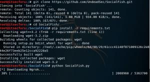 SocialFish — фишинговый инструмент с интегрированным Ngrok