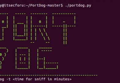 PortDog — Сетевой детектор аномалий