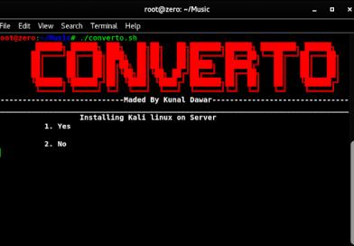 Converto — Установка Kali Linux на сервер VPS