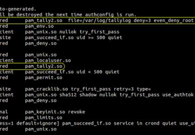 Как блокировать учетные записи Linux после неудачных попыток входа