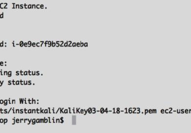 Запустите экземпляр Kali Linux на AWS в течение 60 секунд бесплатно