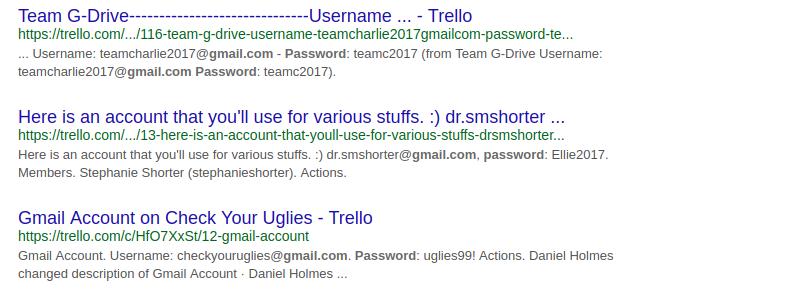 Прекратите использовать Trello в качестве менеджера паролей