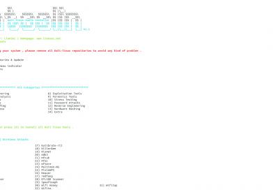 Как установить инструменты Kali Linux с помощью Katoolin в Ubuntu 18.04 LTS
