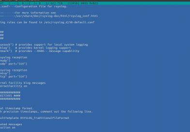 Как настроить формат логов с помощью rsyslog в CentOS / RHEL 5,6,7