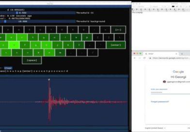 Keytap — прослушивание акустической клавиатуры