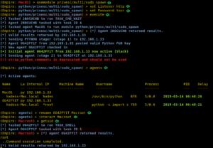 👨⚕️ ♂️ Эксплуатация OSX с Powershell Empire